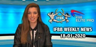 WATCH: IFBB Weekly News 18-01-2020