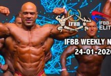 WATCH: IFBB Weekly News 24-01-2020