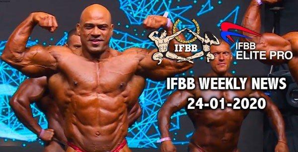 WATCH: IFBB Weekly News 24-01-2020