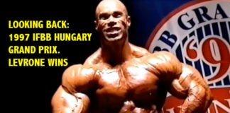 levrone ifbb hungary bodybuilding