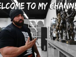 Luke Sandow launches official Youtube channel