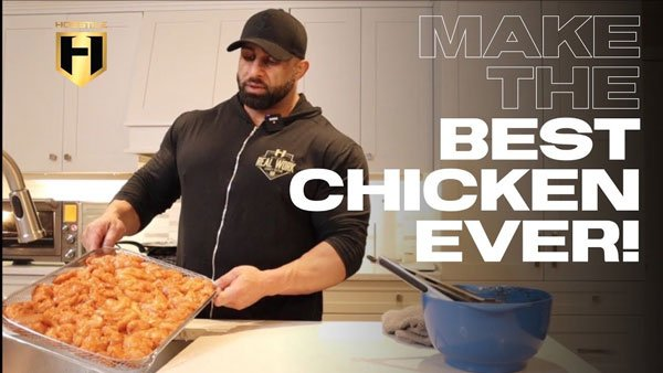 WATCH: Muscle Building Meals – How to make the best chicken ever!