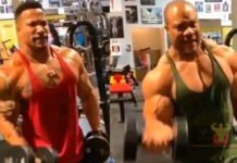 Patrick Moore trains Phil Heath Arnold Classic