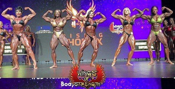 rising phoenix women's bodybuilding