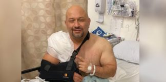 Trainer of champions Hany Rambod in major car crash