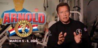 Schwarzenegger's preview of the Arnold Sports Festival USA