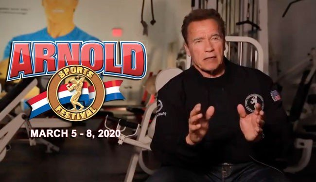 Schwarzenegger's preview of the Arnold Sports Festival USA