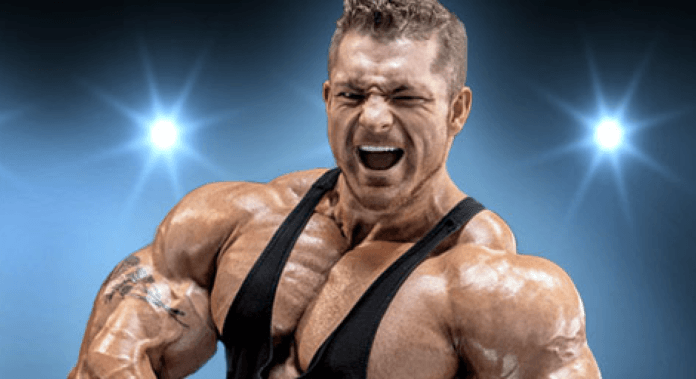 Flex Lewis compete 2020 Olympia