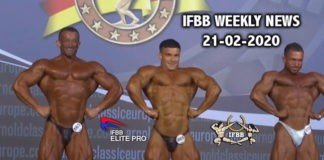 WATCH: IFBB Weekly News 21-02-2020