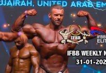 WATCH: IFBB Weekly News 31-01-2020