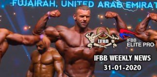 WATCH: IFBB Weekly News 31-01-2020