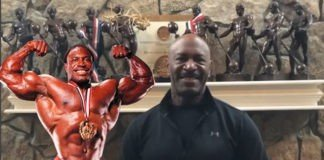 Lee Haney Jake Wood Olympia