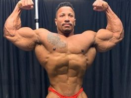 Final photos of Patrick Moore until the 2020 Arnold Classic US