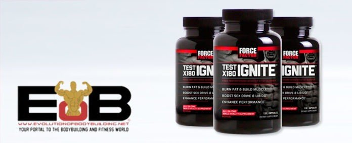 Force Factor Test X180 Testosterone Booster