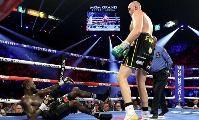 Tyson Fury defeats Deontay Wilder to win WBC heavyweight championship