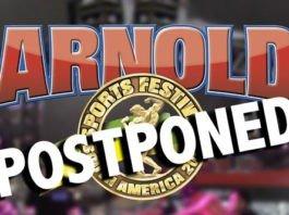 Arnold Sports Festival South America postponed