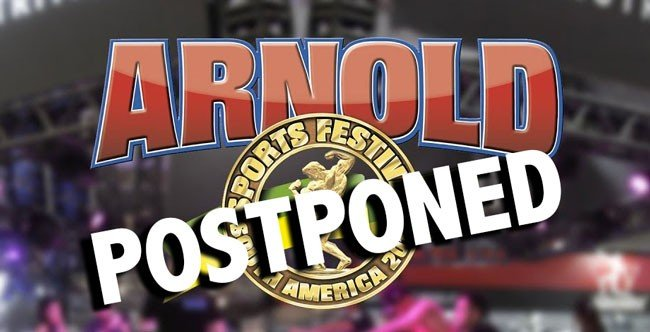 Arnold Sports Festival South America postponed