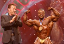 William Bonac Wins his second Arnold Classic Title