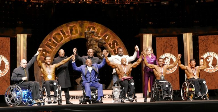 "Harold ""King Kong"" Kelley Wins fifth Straight Arnold Classic Pro Wheelchair"