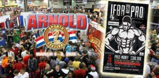Vendors Arnold Sports USA offered FREE