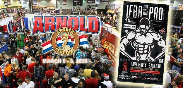Vendors from Arnold Sports USA offered FREE booth at Boston Pro