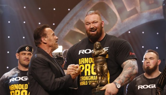 Hafthor Bjornsson Wins Arnold Strongman Classic Crown