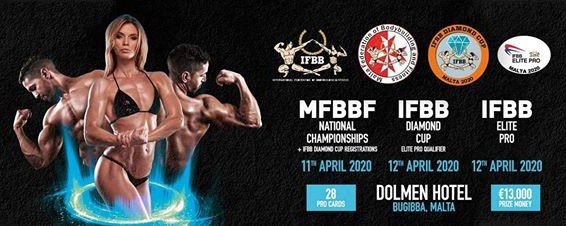IMPORTANT: Travel information to Malta in relation to coronavirus for IFBB competitions