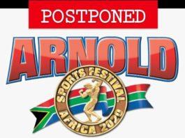 2020 Arnold Sports Festival Africa postponed