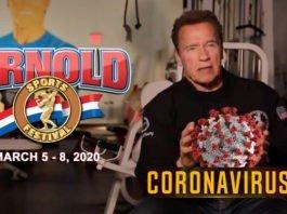 2020 Arnold Sports Festival USA: Athletes to be screened for coronavirus