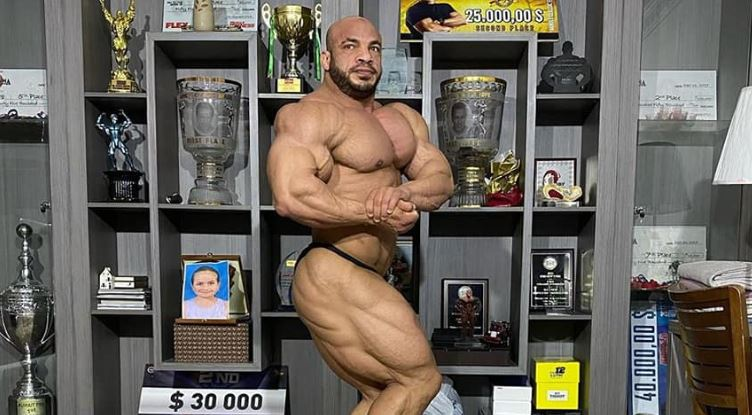 PHOTOS: Big Ramy's fantastic condition one week before Arnold Classic