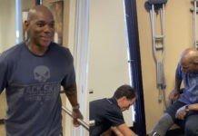 Flex Wheeler smiling again prosthetic leg