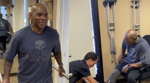 Flex Wheeler smiling again prosthetic leg