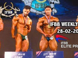 WATCH: IFBB Weekly News 28-02-2020