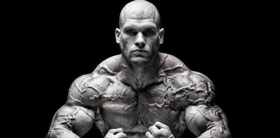 Croatian bodybuilder Aleksandar Srdoc