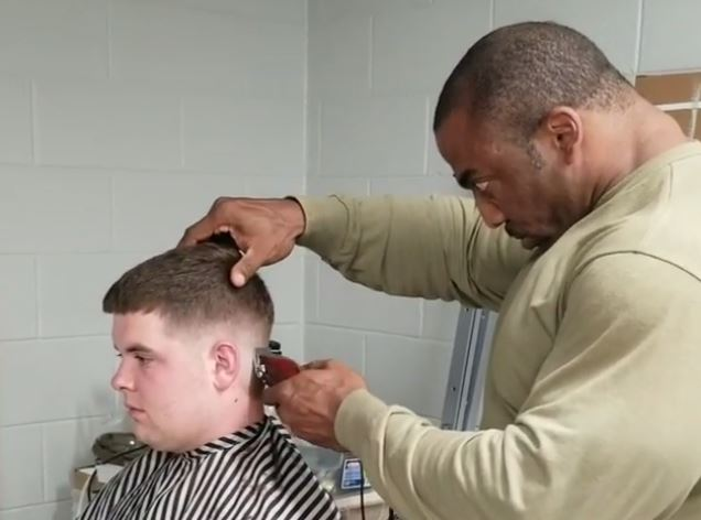 Coronavirus Cedric McMillan barber