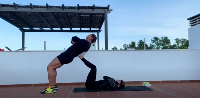 Muscle & Health Couple Workout
