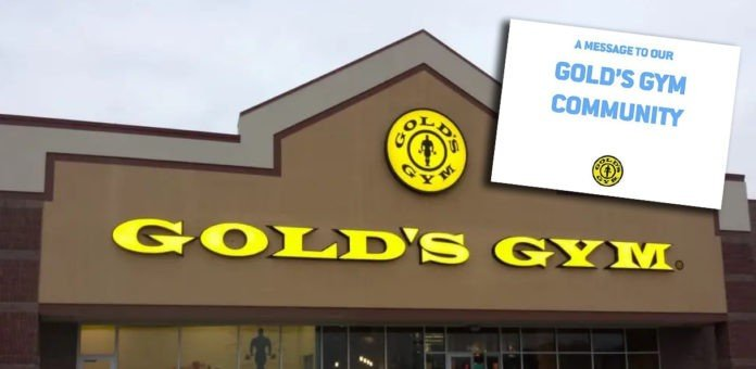 Gold's Gym forced close