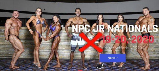 2020 NPC Junior Nationals rescheduled due to coronavirus