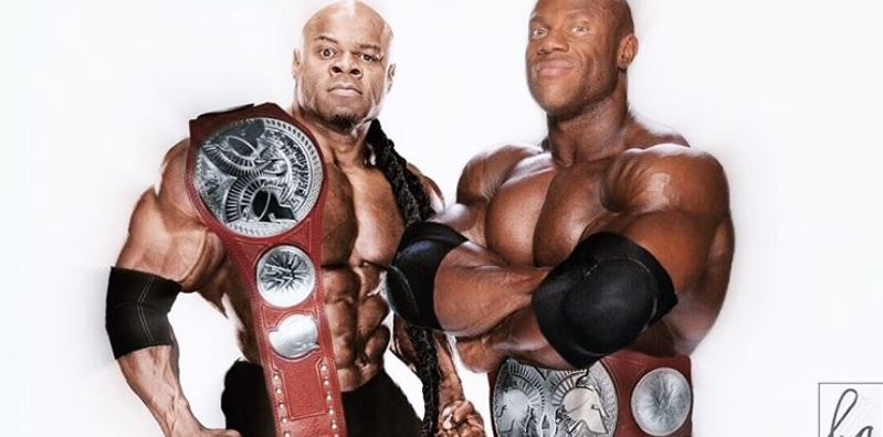 Phil Heath Kai Greene WWE