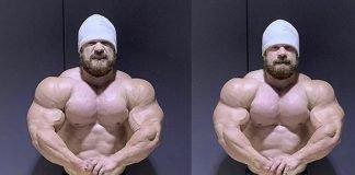 Nicolas Vullioud's freakish size