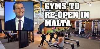 Gyms to re-open in Malta