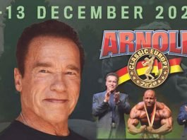 2020 Arnold Classic Europe