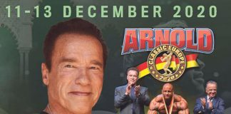 2020 Arnold Classic Europe