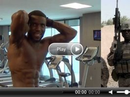 US Marine's FREAKY Transformation Video