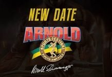 Arnold Classic South America rescheduled 2021