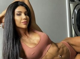 Deniz Saypinar's Glute Shoulder workout