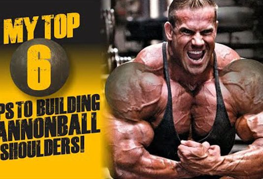 Jay Cutler cannonball shoulders