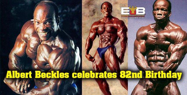 Bodybuilding Albert Beckles 82