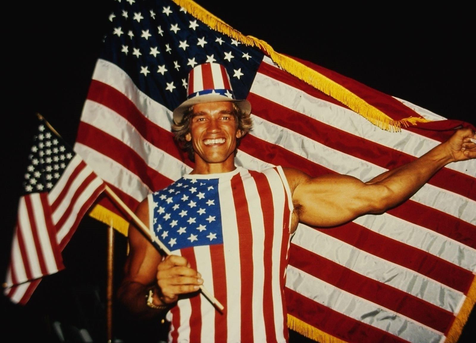 Arnold Schwarzenegger 4th of july