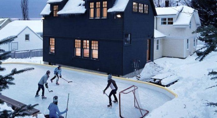 sporting event backyard